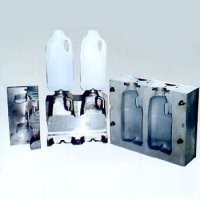 Two Cavities Blow Mold with Holdings Mold