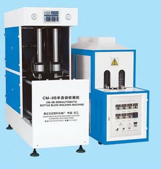 CM-9B Semiautomatic bottle blow machine