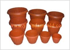 used mould of flowerpot