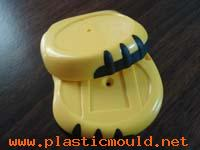 multi-material injection mould over-moulding