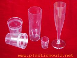 Glass Champagne mould