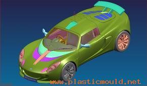 Modeled car Design