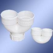 PVC-U U-body for water drain