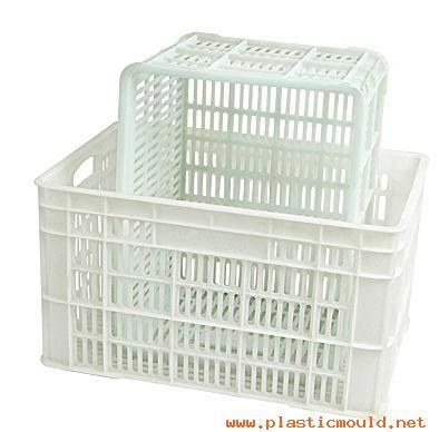 Plastics box mold