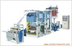 Shopping bag machine, T-shirt bag making equipment line