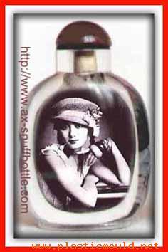 Portrait in snuff bottle