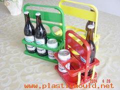 Plastic beer holder