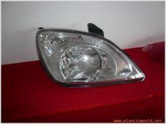 Auto headlamp moulds