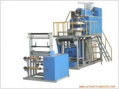 Polypropylene Rotary Die Head Film Blowing Machine Set