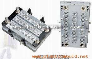 24cavity pneumatic pin-valve preform mould