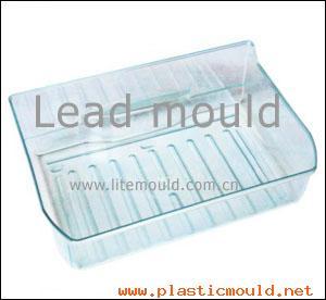 Transparent refrigerator box