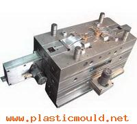 automatic screw&arc Core Pulling molds