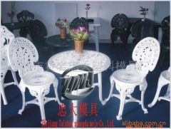 chair and table mould/injection mould