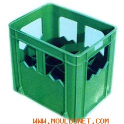 Plastic mould for beer box