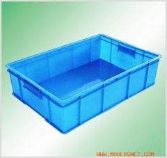 Injection mould, turnover box mould