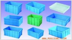 Plastic mould for crate