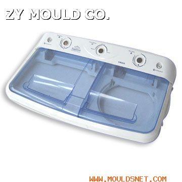 plastic washing machine panel mould