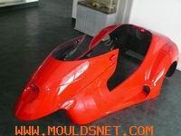 beach car mould Plastic moulds