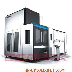 Demark Blow Moulding Machine & Pet Preform Mould Logo