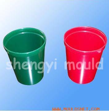 small platic dustbin mould