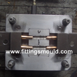 2 CAVITIES OF COUPLER MOULD