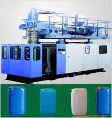 plastic barrel-blow molding machine