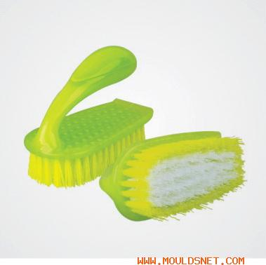 China plastic clothe brush mould 04