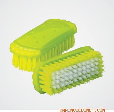 China plastic clothe brush mould 06