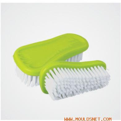 China plastic clothe brush mould 09