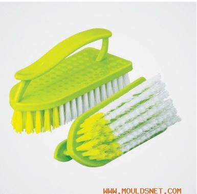 China plastic clothe brush mould 08