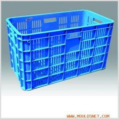 Plastic crate mould