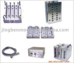 Self-locking Pneumatic needle valve injection perform bottle mould