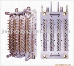 1mould/48cavity Placstic Pneumatic needle valve injection self-locking preform bottle mould