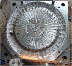 1mould/40cavity fork mould