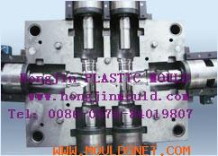Flared pipe fitting mould