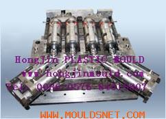Flared pipe mould