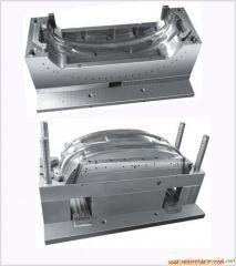 Automobile bumper mould Injection molding