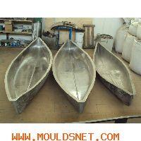 Rotational mould for kayak