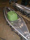 Aluminium mould for kayak