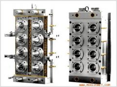 Plastic Injection Mold with 2D/3D Design, Customized Specifications are Welcome