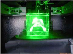 Laser Galvanometer-Scanned Sub-Surface Engraving