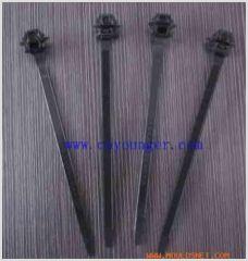 Auto cable tie mold
