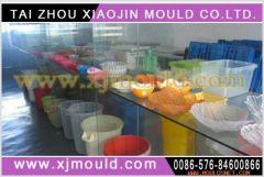 plastic basket mould,PE basket mold,commodity plastic mould
