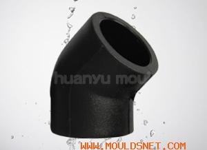 pe elbow mould, elbow fitting mould