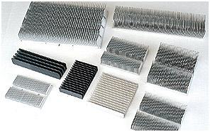 Different aluminium goods