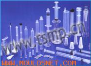 Cold runner mould for puncture needle base