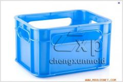 Turnover Box Mould   Fruits Crate Mould   Plastic Vegetable Crate Mould   plasti
