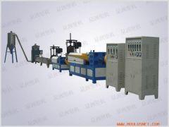 Double-stage dry plastic granulator