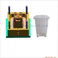 plastic dustbin/garbage bin/trash can injection mould/mold