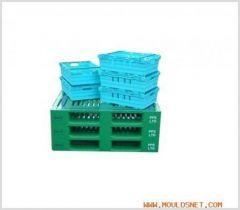plastic folding crate mould